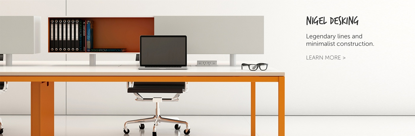 NOW NIGEL Desking by Innovant