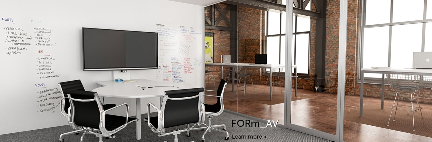 FORm_AV Huddle Conference Table