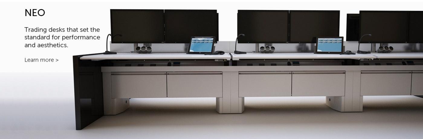 NEO Trading Desks by Innovant