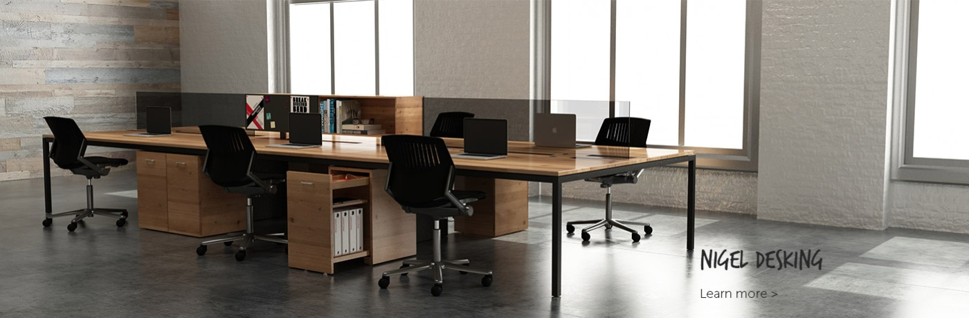 NIGEL Desking by Innovant