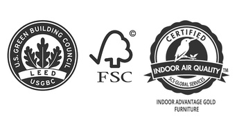 LEED, FSC, SCS
