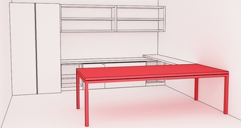 PRIVATE_office Parsons Table