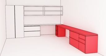 PRIVATE_office Working Credenza