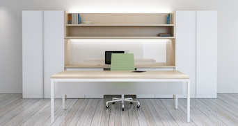 PRIVATE_office with Custom Overhead