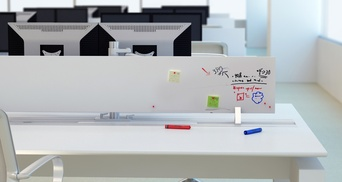 ELEVATED WHITEBOARD CENTRAL DIVIDER
