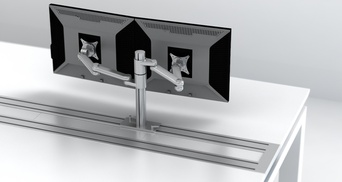 BEAM-MOUNTED MONITOR ARM