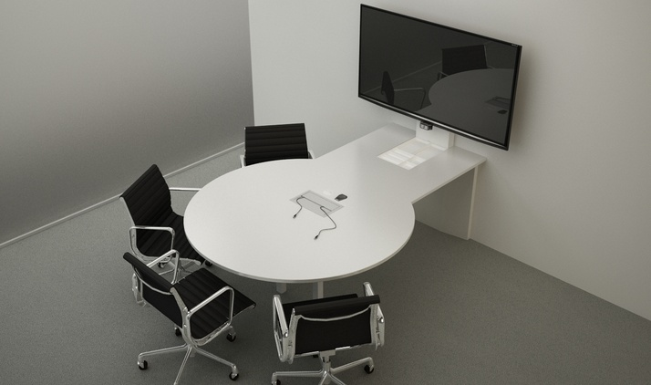 FORm_AV Huddle Table by Innovant