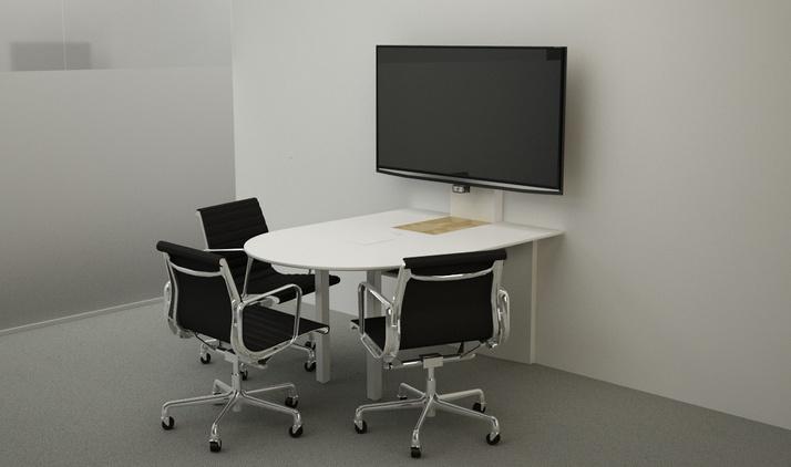 Innovant FORm_AV Huddle Table